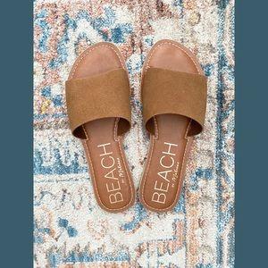 Beach By Matisse Chesnut Slide Sandals